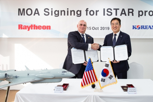 Korean Air, Raytheon partner for ISTAR military solution
