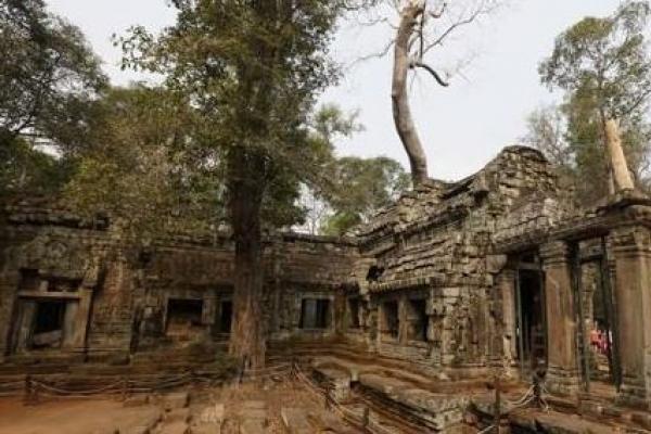 크메르 왕국의 정글속 '사라진 도시' 항공사진으로 확인