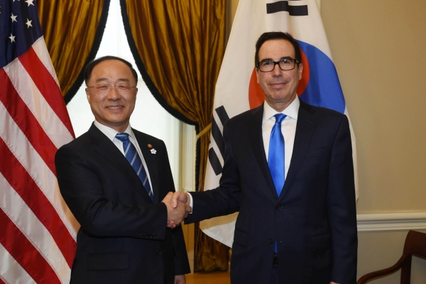 US to consider S. Korea's stance on looming auto tariffs: Mnuchin
