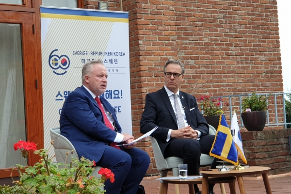 Sweden to invite Pyongyang, US back to denuke negotiation table