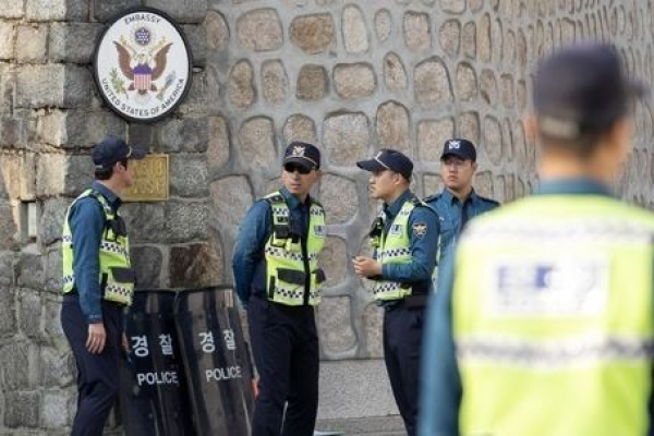 Police to bolster security following US envoy residence break-in