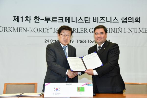 Korean businesses eyeing Turkmenistan market
