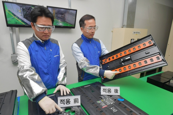 [From the Scene] Samsung SDI demonstrates fire-safe ESS