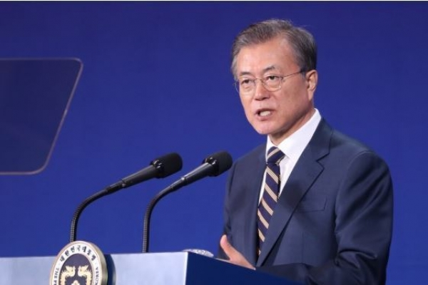 Moon's approval rating rebounds from record low: poll
