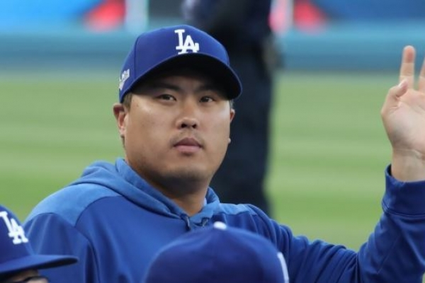 Dodgers' Ryu Hyun-jin misses out on awards voted by peers