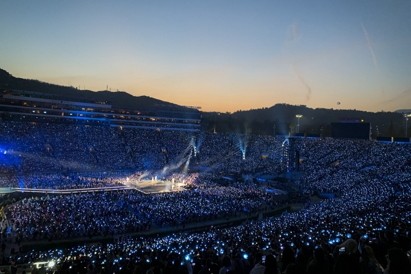 Highlights from BTS' 'Love Yourself: Speak Yourself' stadium tour