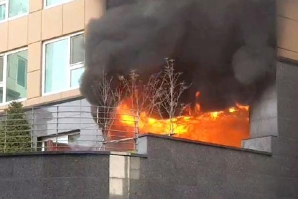 Fire kills man in 30s in Yeongdeungpo