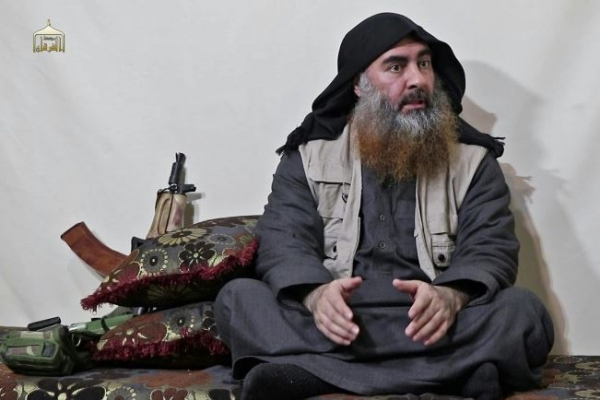 IS chief Baghdadi buried at sea by US military
