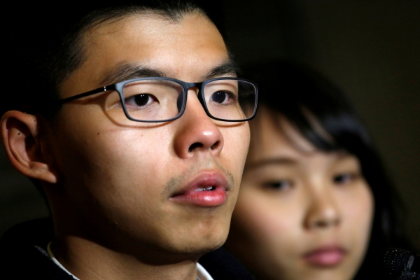 Joshua Wong disqualified from local HK elections