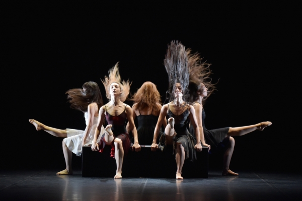 For modern ballet master, flick of hair can be dance movement