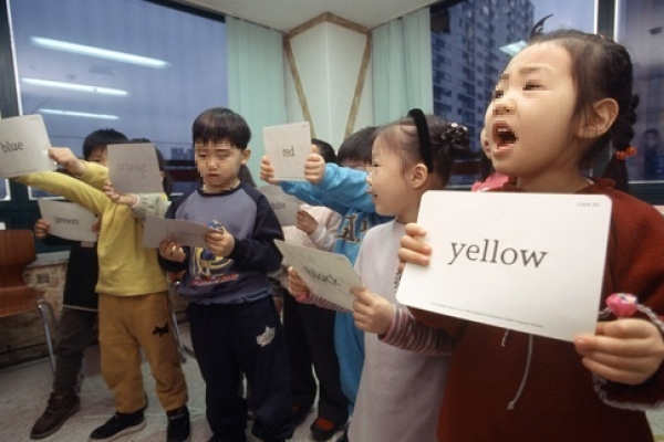 Costly English kindergartens on the rise in Seoul