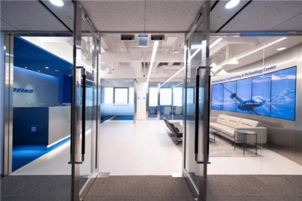 Boeing opens technology center in South Korea