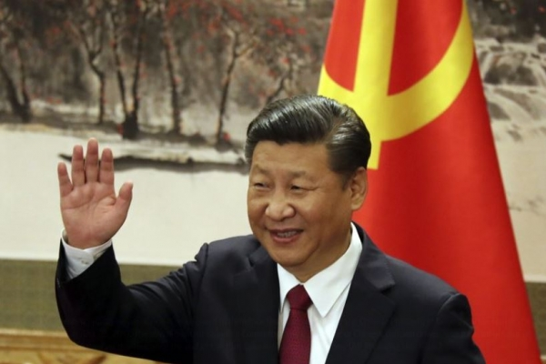 Xi voices 'high degree of trust' in Hong Kong leader over unrest