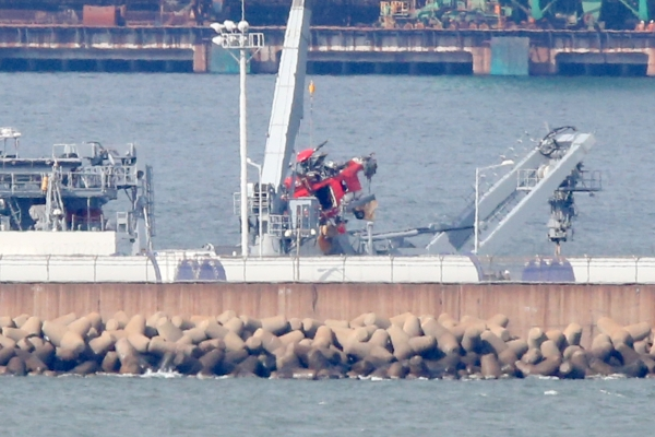 One more body found at East Sea chopper crash site