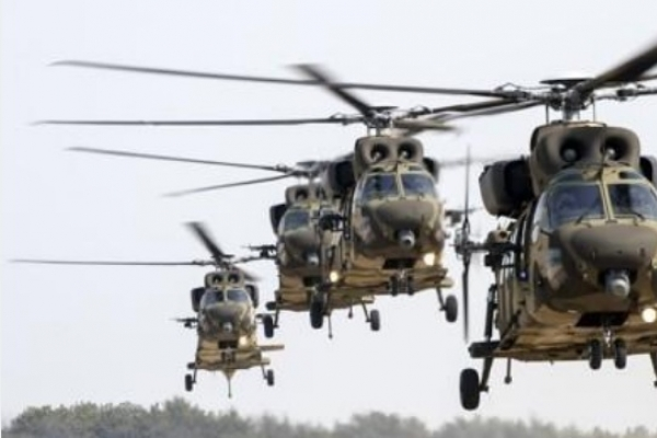Army suspends operation of Surion choppers following unusual signs