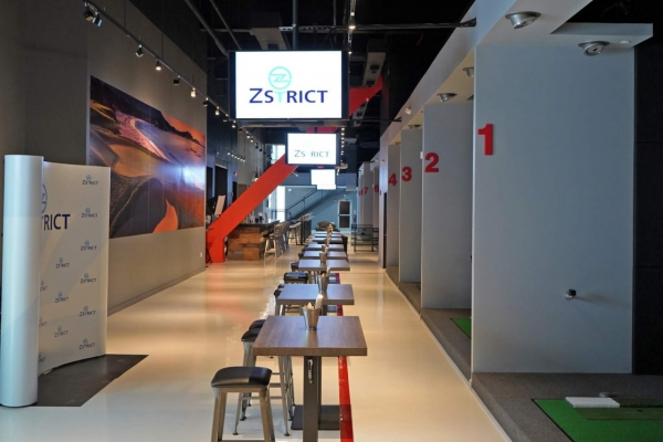 Golfzon opens 1st Zstrict in US