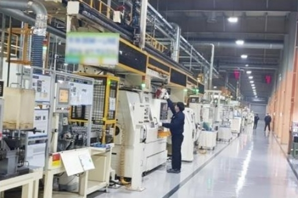 S. Korea's domestic supply in manufacturing up 1.4 % in Q3
