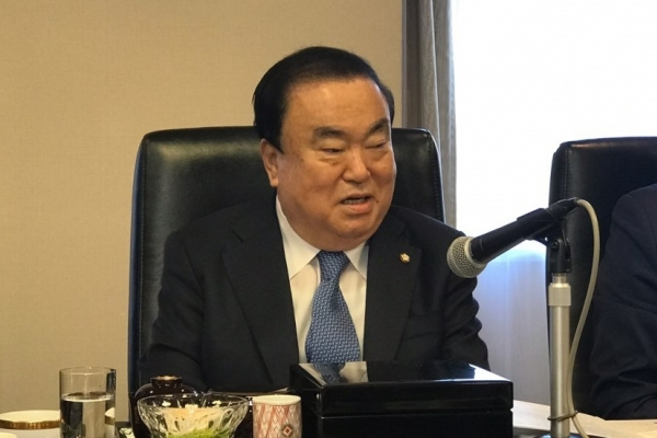 National Assembly speaker stresses need to resolve Seoul-Tokyo row