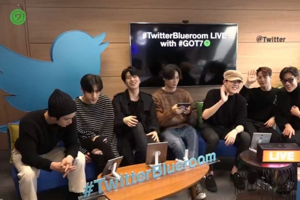 [Kpopherald x Twitter] GOT7 talks about name, fans, comeback and 'TMI'