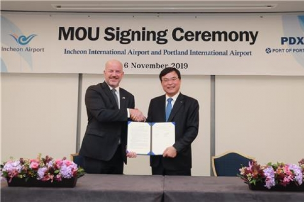 Incheon airport signs MOU for route expansion in US