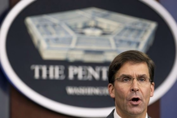 US Defense Secretary Esper to visit S. Korea next week
