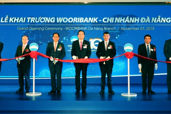 Woori Bank Vietnam celebrates office opening in Danang