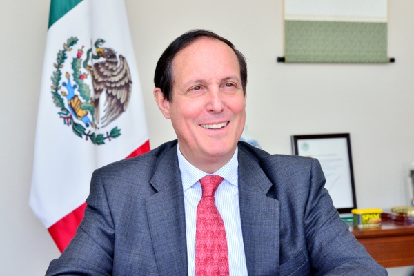 [Diplomatic circuit]  [Meet the diplomat]  Mexico top diplomat in Seoul optimistic on Seoul's Pacific Alliance associate membership prospects