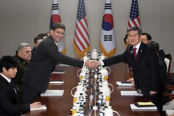 S. Korea, US hold annual defense ministers' talks