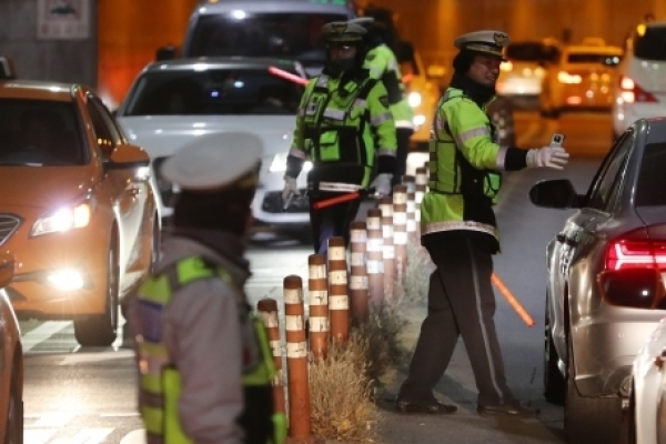 Police bust 10,000 drunk drivers in 50-day crackdown