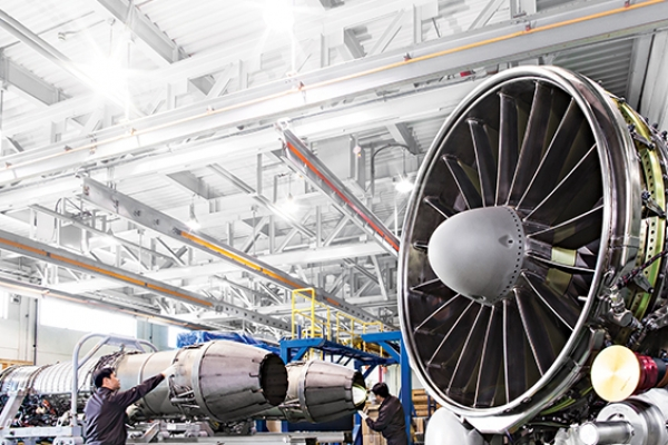 Hanwha Aerospace, GE sign $300m plane engine parts supply deal