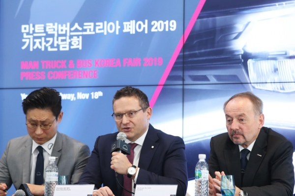 [Photo News] MAN Truck & Bus expects weak sales in Korea