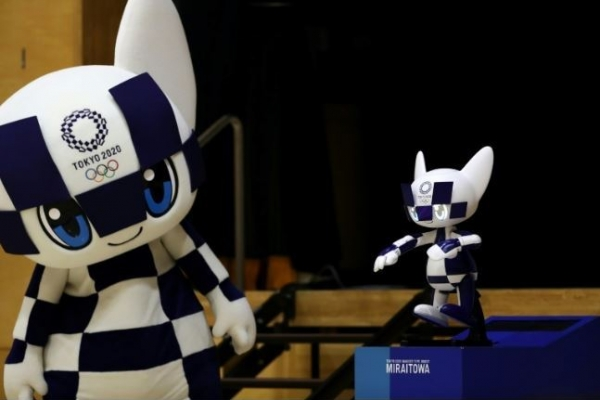 'Kawaii!' Olympic robot mascots thrill Tokyo students