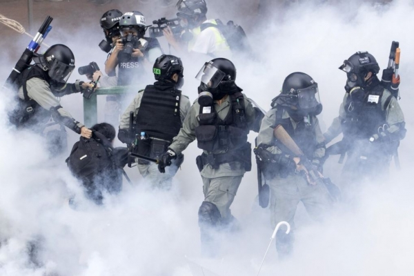 A Hong Kong protester on why he won't surrender to police