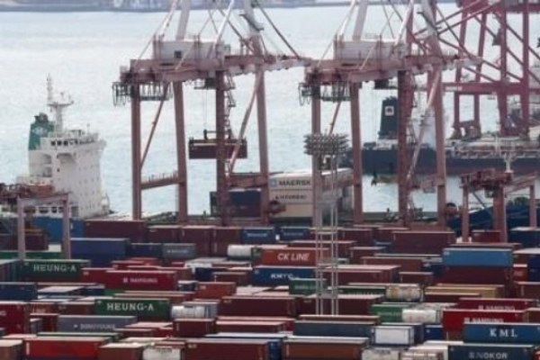 S. Korea's exports down 9.6 % in first 20 days of November