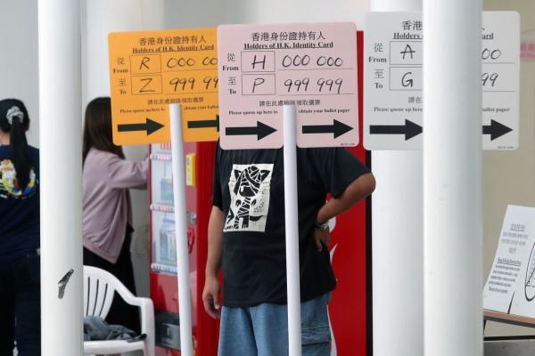 Hong Kong pro-democrats seek to hit government at district polls