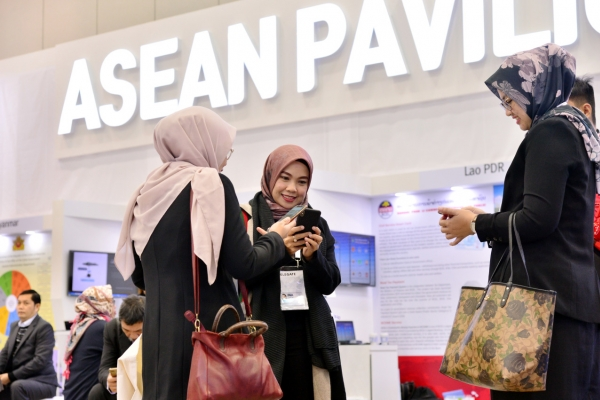 [ASEAN-Korea summit] Exhibition showcases public service innovations in Korea, ASEAN nations