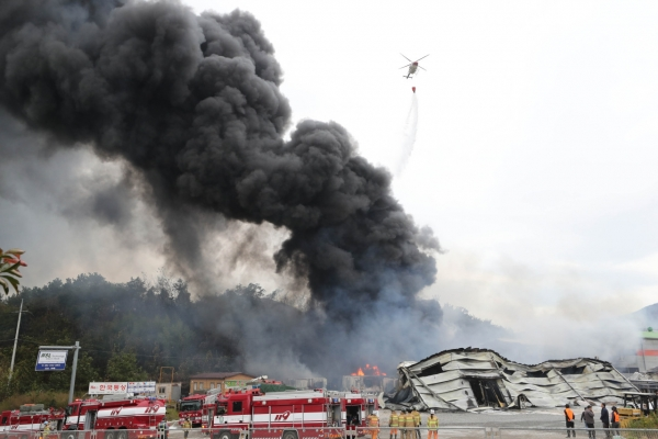 [News Brief] Fire hits chemical factory in Yeosu