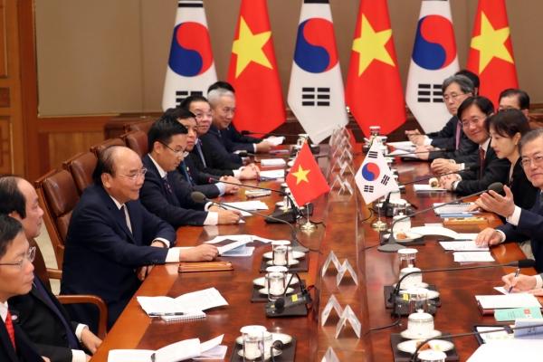[ASEAN-Korea Summit] Korea, Vietnam pledge cooperation on ASEAN, global issues