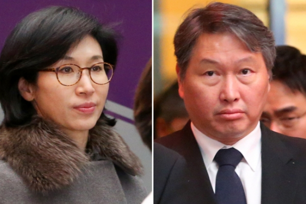 SK chief's wife files divorce countersuit, claims 42.3% of his stake in firm
