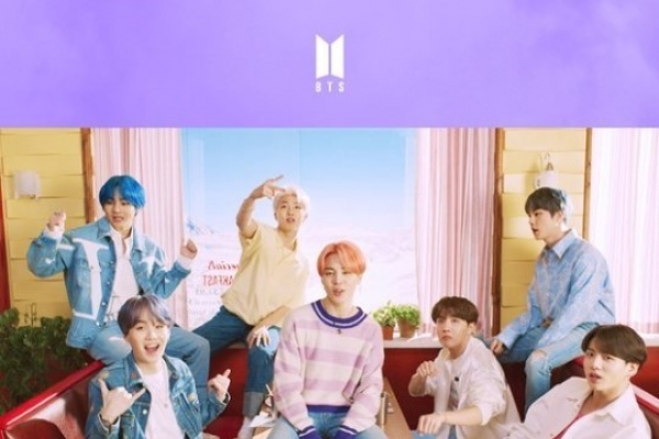 BTS' 'Boy with Luv' most-viewed YouTube music video in S. Korea in 2019
