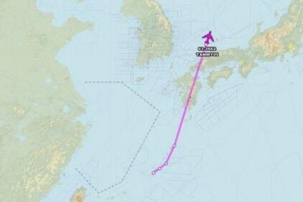 US flies more surveillance planes over Korean Peninsula: aviation tracker
