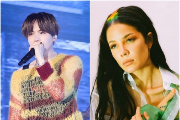 BTS' Suga releases collaboration with Halsey