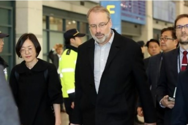 Top US negotiator in defense cost-sharing talks arrives in S. Korea