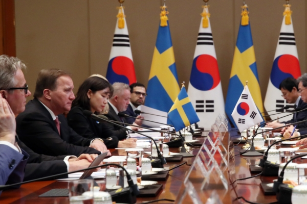 Korea, Sweden seek closer cooperation in economic, social issues