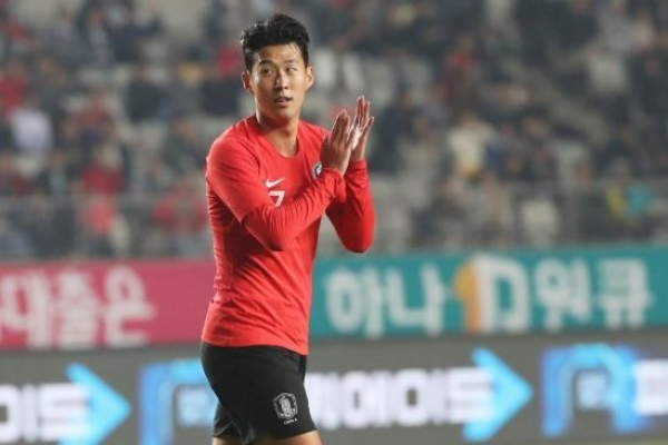 Son Heung-min named top S. Korean player for record 4th time