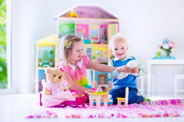 Complaint filed against pink toys for girls, blue for boys