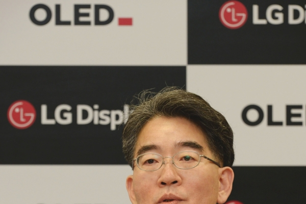 [CES 2020] LG Display CEO vows to expand OLED supplies beyond TVs