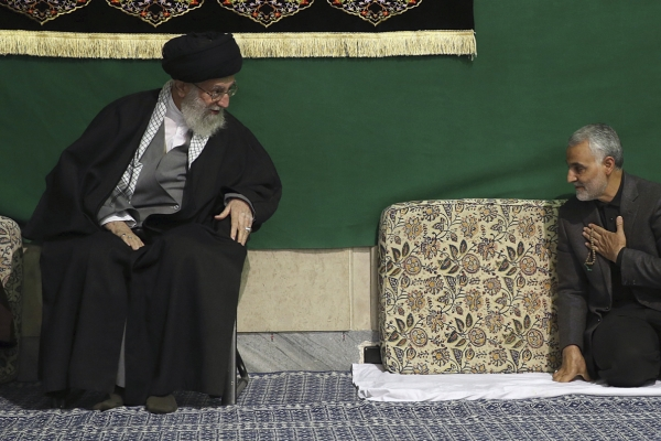 Supreme leader emotional as Iran mourns top general