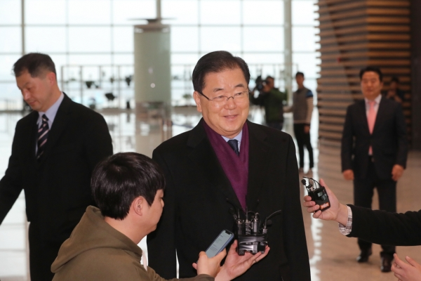 Moon's security adviser to hold 3-way talks in US
