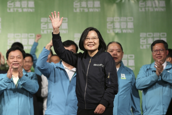 Taiwan leader meets top US official after her election win